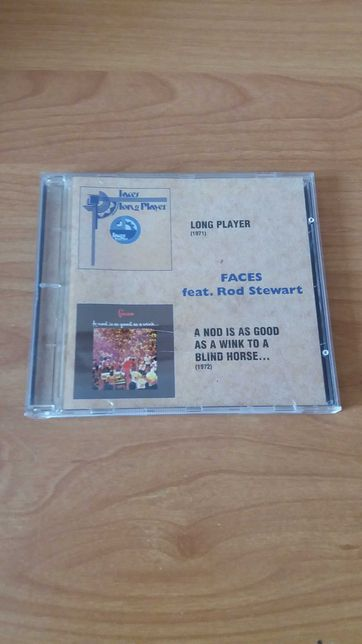 2 CD w 1 Faces Rod Stewart Long Player A Nod Is As Good As A Wink bdb