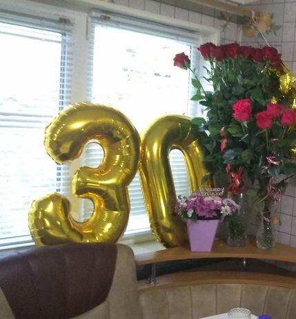 Цифры на день рождения 30 лет