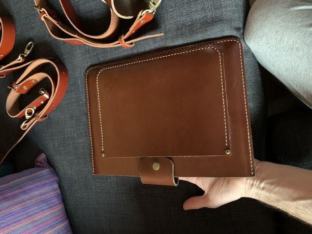 Кожаный чехол для MacBook Air 11-13 iPad Pro