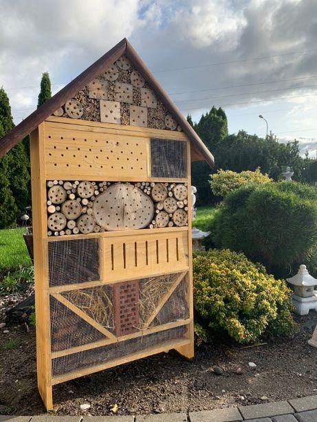 Hotel Domek Dom dla owadów pszczół murarka