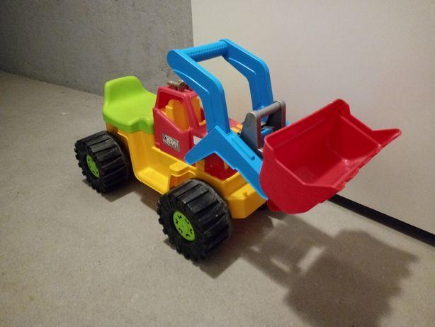 Duża koparka dla dzieci/ jeździk Marmat