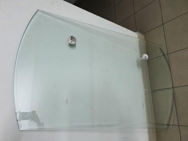 Szkło blat stół 120 cm x 70 cm x 8 mm hartowane