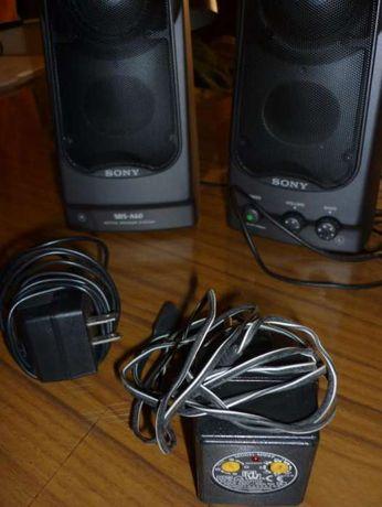 colunas de som Sony SRS-A60 e transformadores