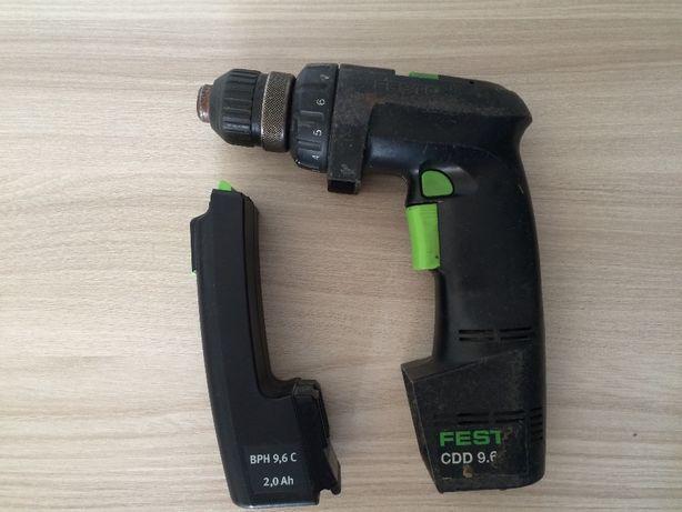 Аккумуляторный шуруповерт Festо(Festool)CDD9,6 ES с батареей или обмен