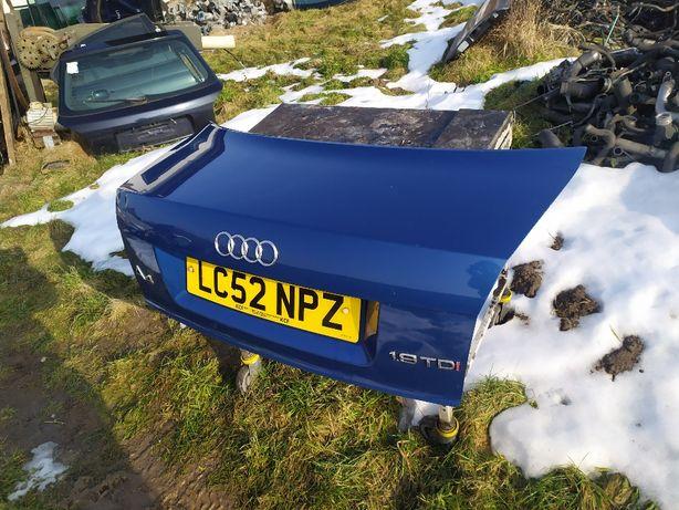 Klapa pokrywa bagażnik Audi A4 B6 sedan LZ5W