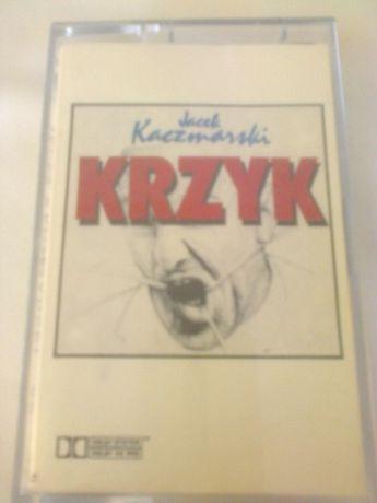 """kaseta magnetofonowa """"Krzyk"""" Jacka Kaczmarskiego"""