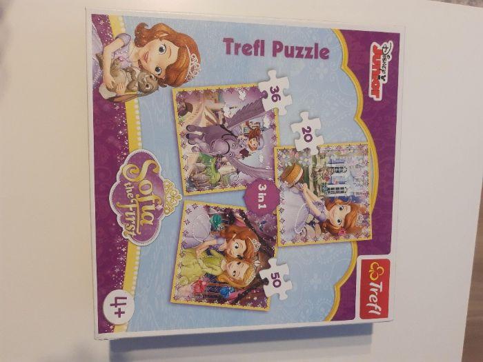 Puzzle 3w1 4+ Księżniczka Zosia Lublin - image 1