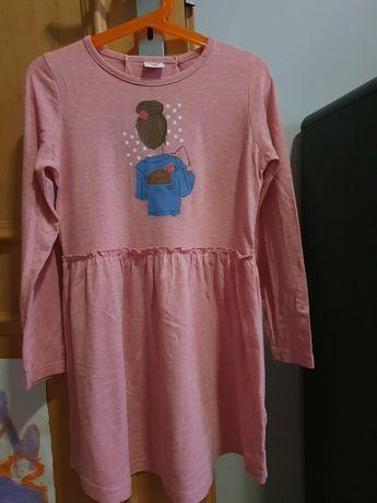 Sukienka,rozmiar 128.