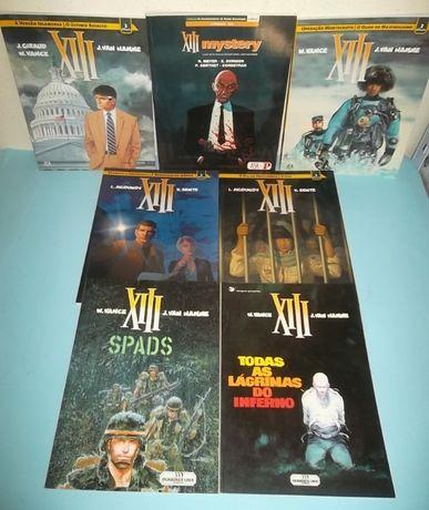 Colecção XIII - William Vance - 6 volumes