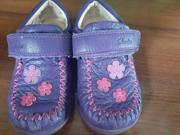 Кожанные туфельки 23 р