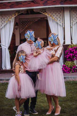 Family look,  платье на годик, фемели лук