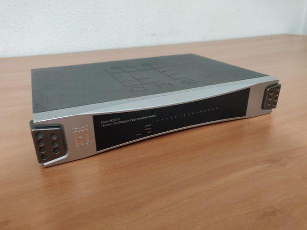 Switch 16 portas 10/100 - Level One FSW-1620TX