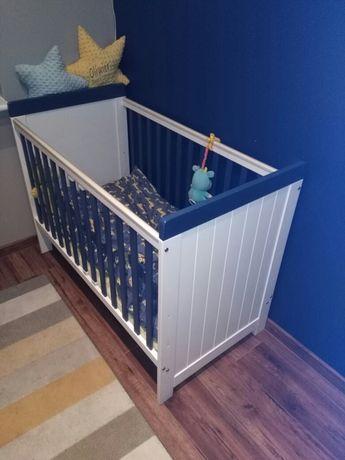 Łóżeczko dziecięce z materacem. OKAZJA