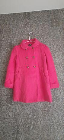 Яркое стильное пальто H&M