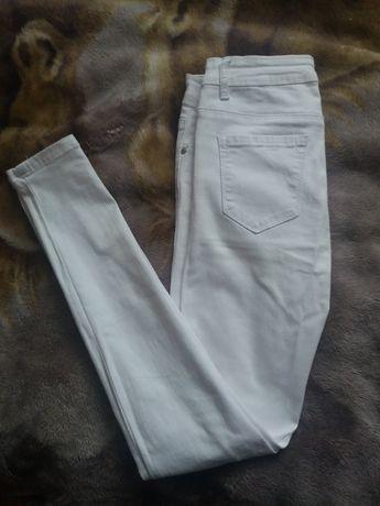 Spodnie białe rozmiar S