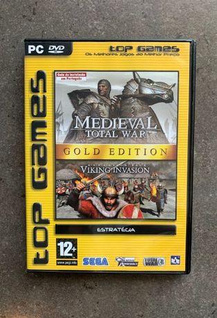Vendo Jogo Medieval Total War Gold Edition Original para PC DVD