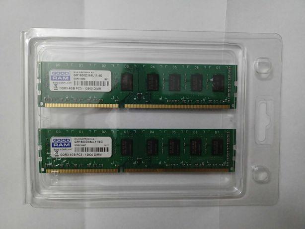 Pamięć RAM DDR3 2x4GB [8Gb] -GoodRam- GR1600D364L11/4G