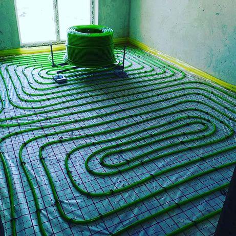 Труба для теплої підлоги Kermi зелена