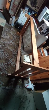 Rama łóżka łóżko drewniane 90x200