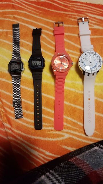Relogios 2 casinos 1 canibal 1 swatch