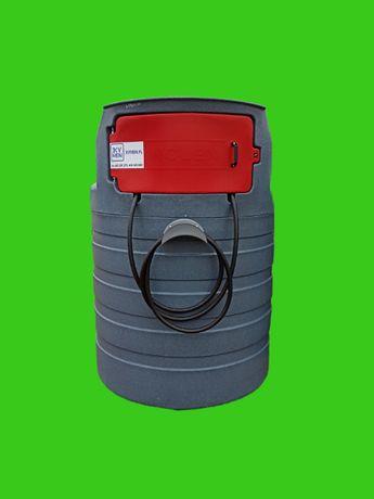 Zbiornik dwupłaszczowy na paliwo ON 1500l
