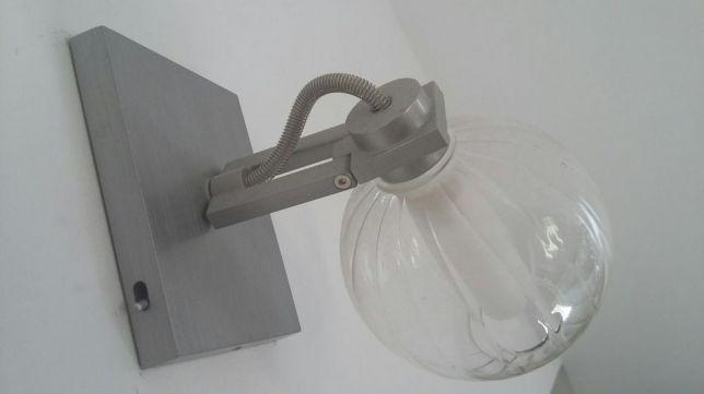 MASSIVE kinkiet ścienny, lampa Stal nierdzewna Aluminium Nowoczesny !!