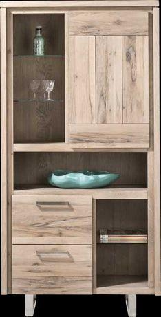 Komoda, regał, witryna szafka drewno MASTERS ,Habufa (S) ,a