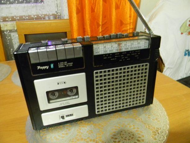Radiorecorder MACK Poppy CR-208 wintage.
