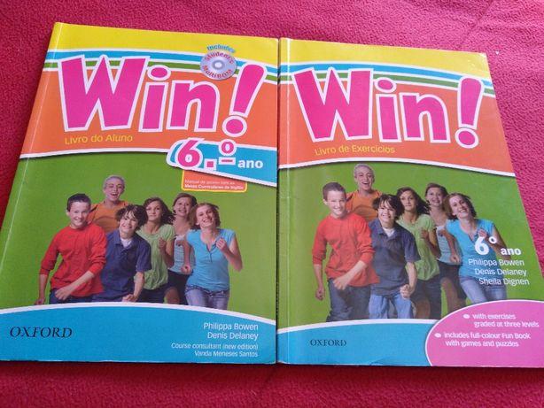 Livro de Inglês WIN! 6º Ano - ISBN 9780194616072