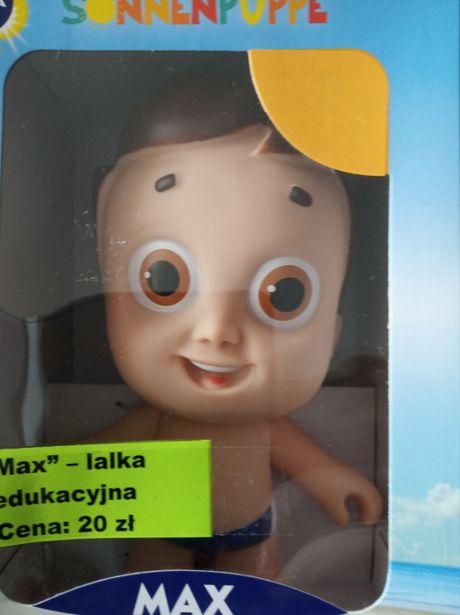 """Max"" - lalka edukacyjna - nowa."