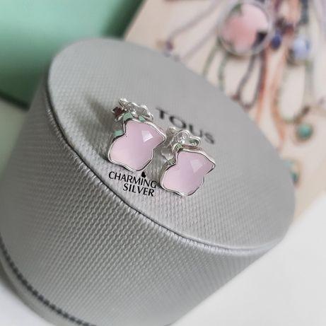 Серьги TOUS Color с розовым кварцем арт: 115433520 TOUS Тоус