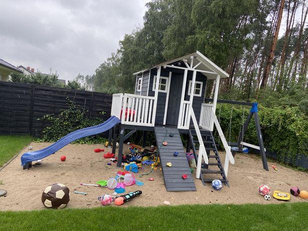 Domek drewniany dla dzieci / plac zabaw