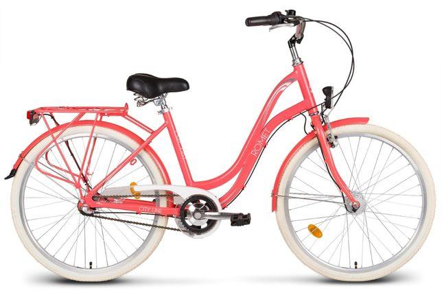 "Rower miejski Romet Pop Art 26"" Raty na telefon"