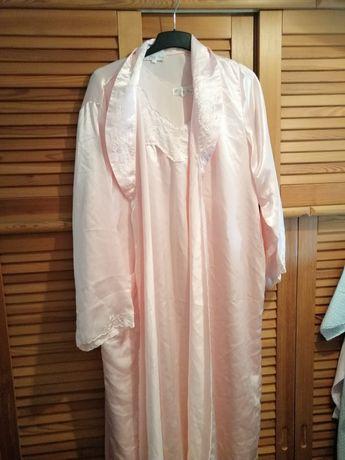 Conjunto camisa e robe