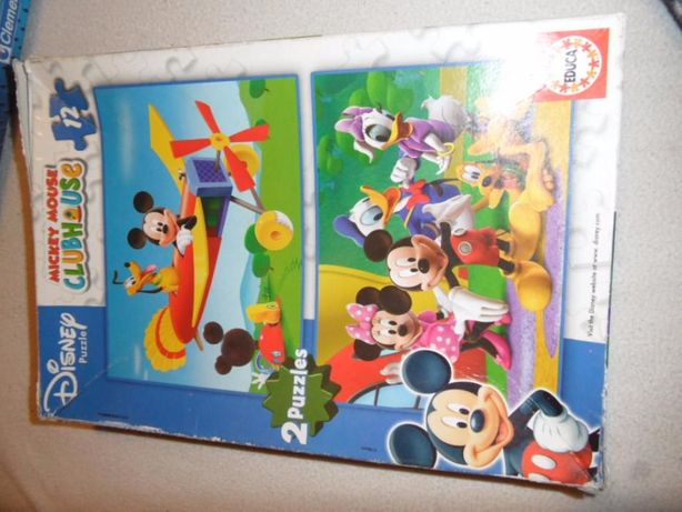 Puzzel Mickey