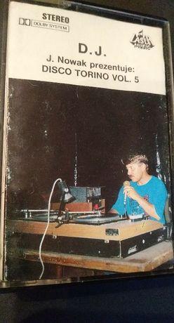 Disco Torino - DJ J.Nowak prezentuje - KASETA MAGNETOFONOWA