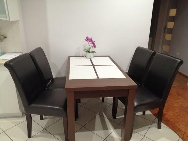 Stol + 4 Krzesła