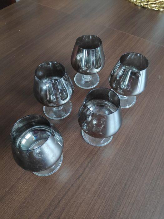 5 kieliszków srebrnych do koniaku Toruń - image 1