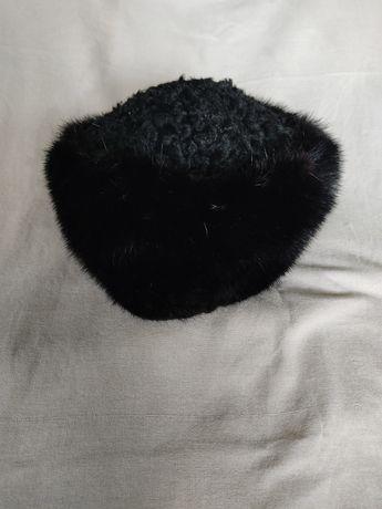 Меховая шапка, натуральный
