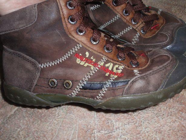 Кожаные ботинки-сапоги 31-32 р. стелька 20.5 см.