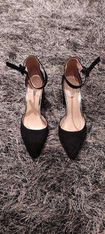 Sapatos - tacão com padrão