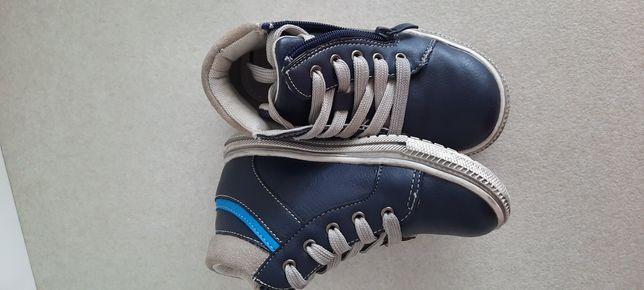 Детские дэми ботинки для мальчика 25 - 26 кеды