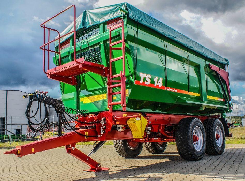 Przyczepa rolnicza skorupowa tandem METAL-TECH TS 14 ton | PROMOCJA Mirosławiec - image 1