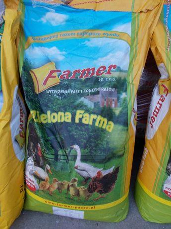 Pasza dla kur Zielona nioska bez GMO 25 kg