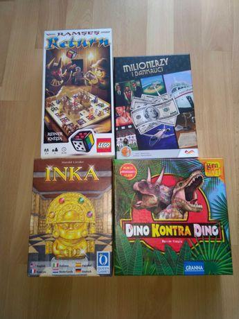 Cztery gry planszowe