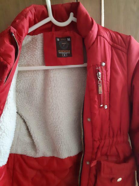 Sprzedam kurtkę zimową rozmiar 146
