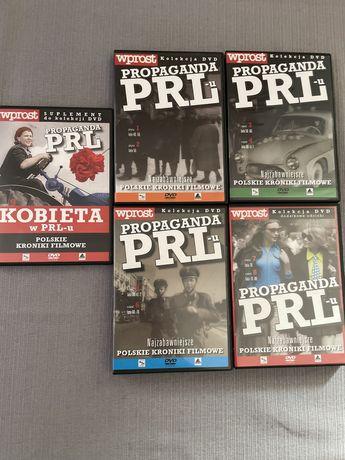 Polskie kroniki filmowe propaganda PRL DVD