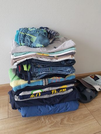Paka ubrań dla chłopaka 1 -2 lata