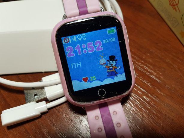 Годинник-телефон Smart Baby Watch Q100S з прослушкою та GPS локацією.