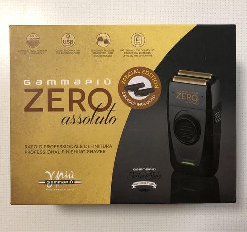 2 в 1, Шейвер (электробритва) + триммер Gamma Zero, assoluto